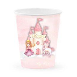 Ποτήρια με όνομα Πριγκίπισσα (6 τεμ)