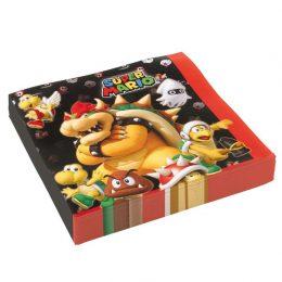 Χαρτοπετσέτες Super Mario (20 τεμ)