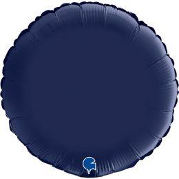"""Μπαλόνι Μπλε Navy στρογγυλό 18"""""""