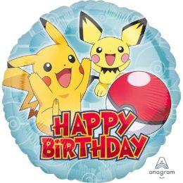 Μπαλόνι Pokemon Happy Birthday
