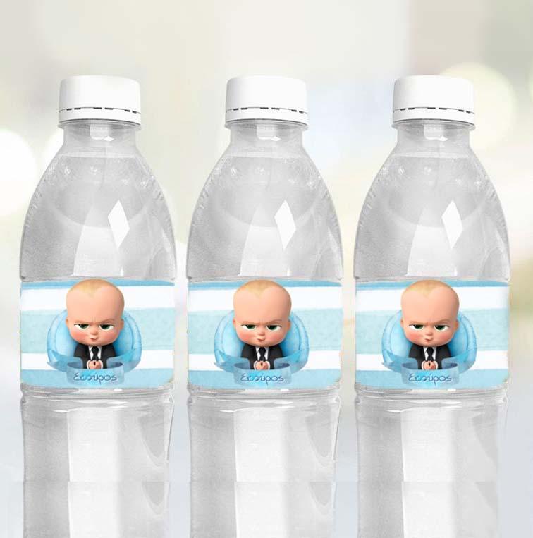 Ετικέτες για μπουκάλια νερού Baby Boss (8 τεμ)