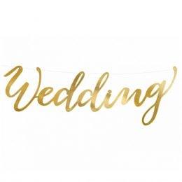 Γιρλάντα γάμου Wedding χρυσό