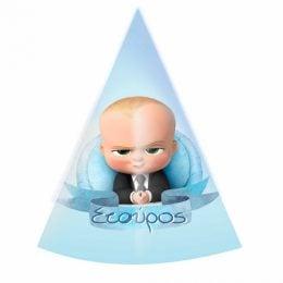 Καπελάκια πάρτυ Baby Boss (6 τεμ)