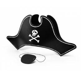 Πειρατικό Καπέλο & Κάλυμμα ματιού