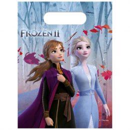 Σακουλάκια για δωράκια Frozen II (6 τεμ)