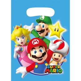 Σακουλάκια για δωράκια Super Mario (8 τεμ)