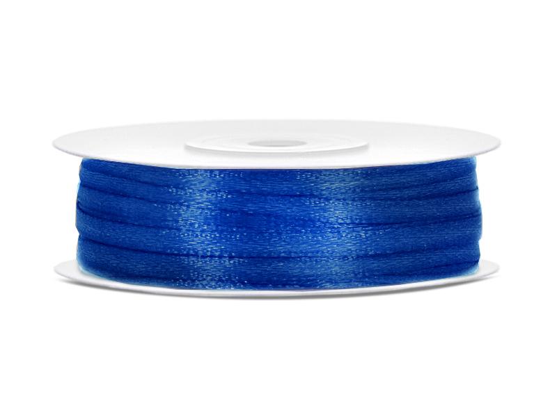 Σατέν μπλε navy κορδέλα