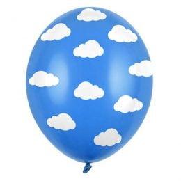 Σετ Μπαλόνια Συννεφάκια (6 τεμ)