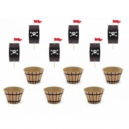 Σετ για cupcake Πειρατές (6 τεμ)