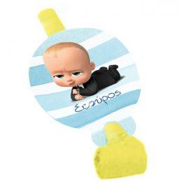 Σφυρίχτρες Blowouts Baby Boss (8 τεμ)