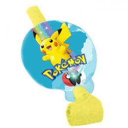 Σφυρίχτρες Blowouts Pokemon (8 τεμ)