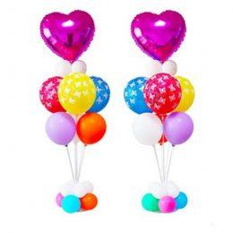 Λευκή βάση για μπαλόνια 75 cm