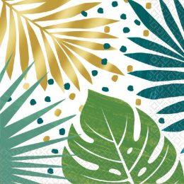 Χαρτοπετσέτες Τροπικά Φύλλα (16 τεμ)