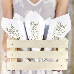 Χωνάκια ρυζιού γάμου