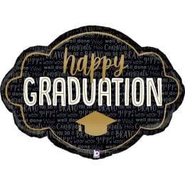 """Μπαλόνι Κάδρο """"Happy Graduation"""""""