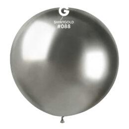 "31"" Shiny Ασημί Μπαλόνι"