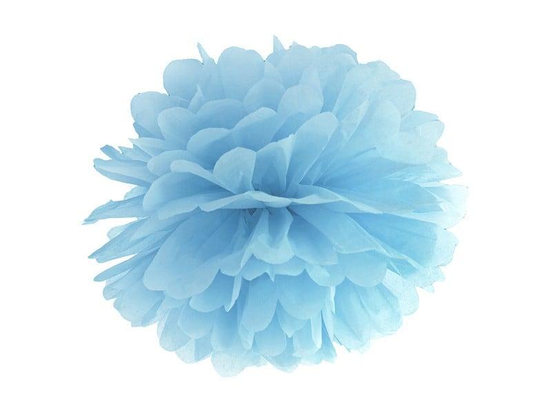 Baby Blue χάρτινο Pom Pom