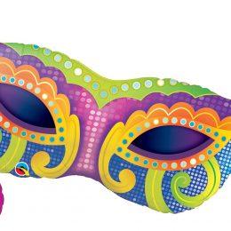 Μπαλόνι Αποκριάτικη Μάσκα