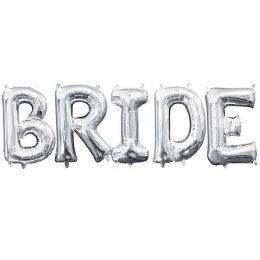 Μπαλόνι ασημί Bride