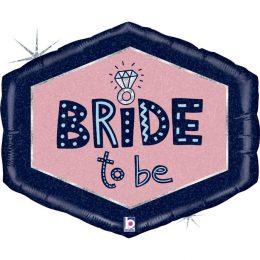 Μπαλόνι Bride to Be πολύγωνο