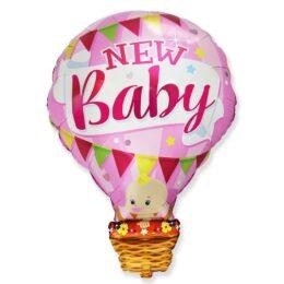 Μπαλόνι γέννησης Αερόστατο New Baby Girl