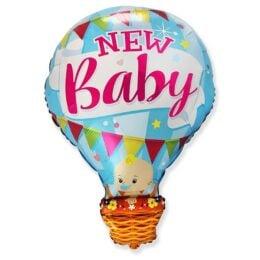 Μπαλόνι γέννησης Αερόστατο New Baby Boy