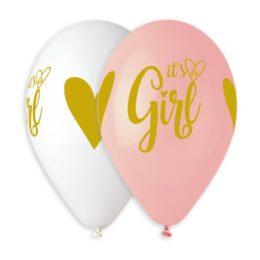 Μπαλόνι It's a Girl χρυσή εκτύπωση