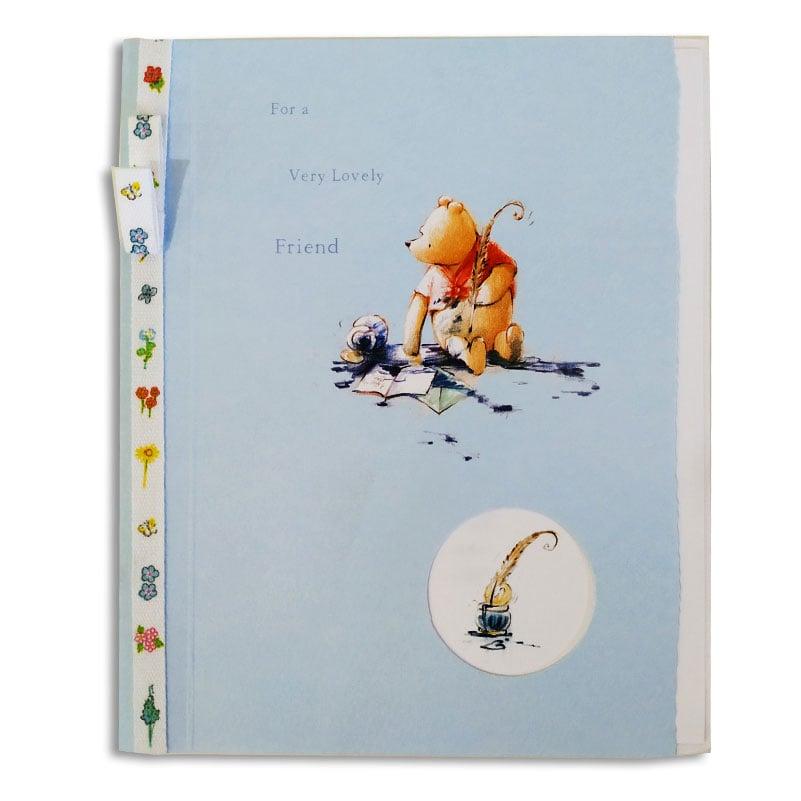 Ευχετήρια Κάρτα Winnie Lovely Friend