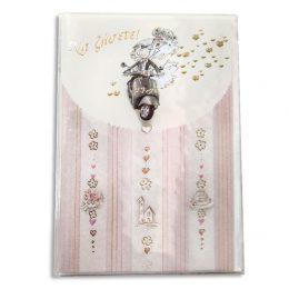 Ευχετήριο Καρτάκι Γάμου Βέσπα με φακελάκι