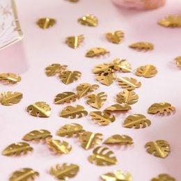 Μεταλλικό κομφετί χρυσά Φύλλα