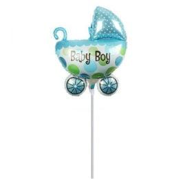Mini Shape μπαλόνι Καροτσάκι Καροτσάκι Baby Boy