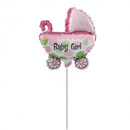 Mini Shape μπαλόνι Καροτσάκι Baby Girl