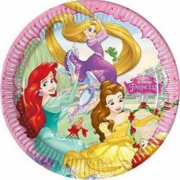 Πιάτα φαγητού Πριγκίπισσες Disney (8 τεμ)