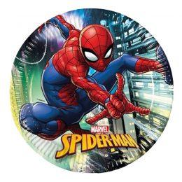 Πιάτα φαγητού Spiderman Team up (8 τεμ)