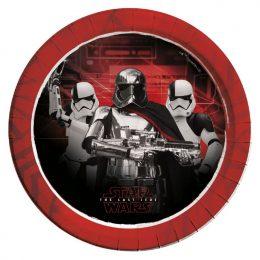 Πιάτα φαγητού Star Wars Episode (8 τεμ)