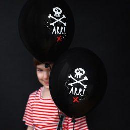 Σετ μπαλόνια Πειρατές (6 τεμ)