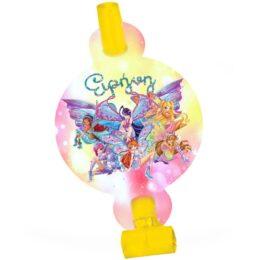 Σφυρίχτρες Blowouts Winx (8 τεμ)