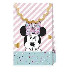 Τσαντάκια δώρου Minnie Mouse Gem (6 τεμ)