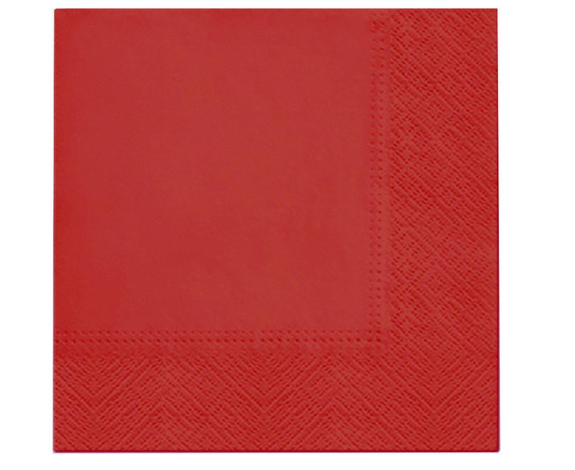 Χαρτοπετσέτες Κόκκινες (20 τεμ)