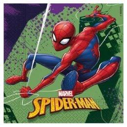 Χαρτοπετσέτες Spiderman - Team up (20 τεμ)