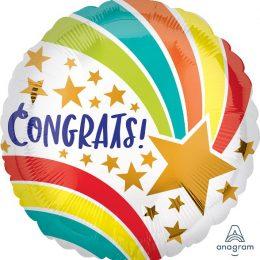 Μπαλόνι για Συγχαρητήρια Congrats Shooting Star