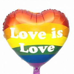 Μπαλόνι Καρδιά Love is Love