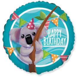 Μπαλόνι Κοάλα Happy Birthday