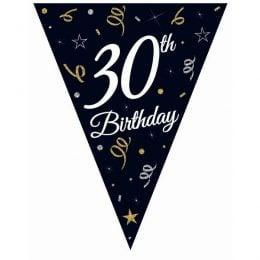 """Μπάνερ γενεθλίων """"30th Birthday"""""""