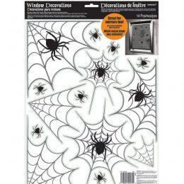 Διακοσμητικά παραθύρων Αράχνες (14 τεμ)
