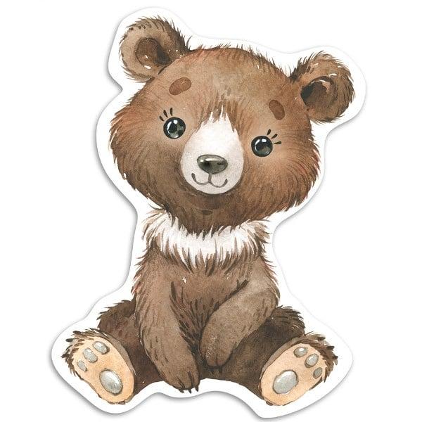Διακοσμητική ξύλινη φιγούρα Αρκουδάκι
