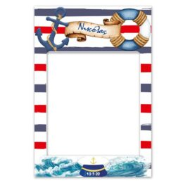 Κάδρο Photobooth Ναυτικό