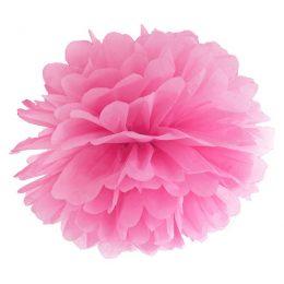 Ροζ χάρτινο Pom Pom