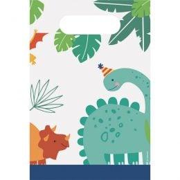 Σακουλίτσες για Δωράκια Δεινόσαυροι Dino-Mite (8 τεμ)