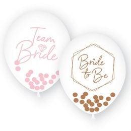 Σετ μπαλόνια με κομφετί για Bachelorette (6 τεμ)